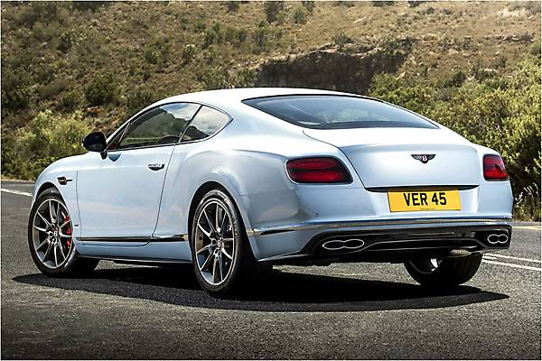 Видео Bentley Continental GT V8 S