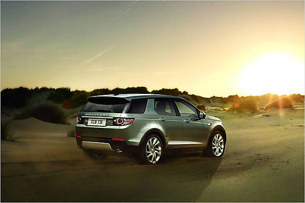 Видео Land Rover Discovery Sport