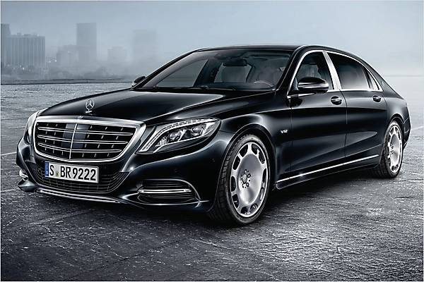 Mercedes-Benz S600 Maybach Guard