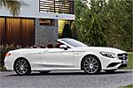 2017 Mercedes-Benz S63 AMG Cabriolet