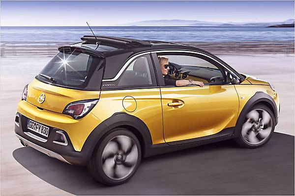Видео Opel Adam Rocks